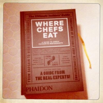 Le guide u point de vue des chefs, du fritkot aux restaurants étoilés dans le monde entier - Edition Phaidon